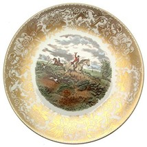 Spode Hunting Scenes Going to Halloa Produced from Engravings After J F Herring  - $108.29