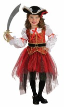 PRINCESS OF THE SEAS PIRATE CHILD HALLOWEEN COSTUME GIRL'S SIZE LARGE 12-14 - $24.89