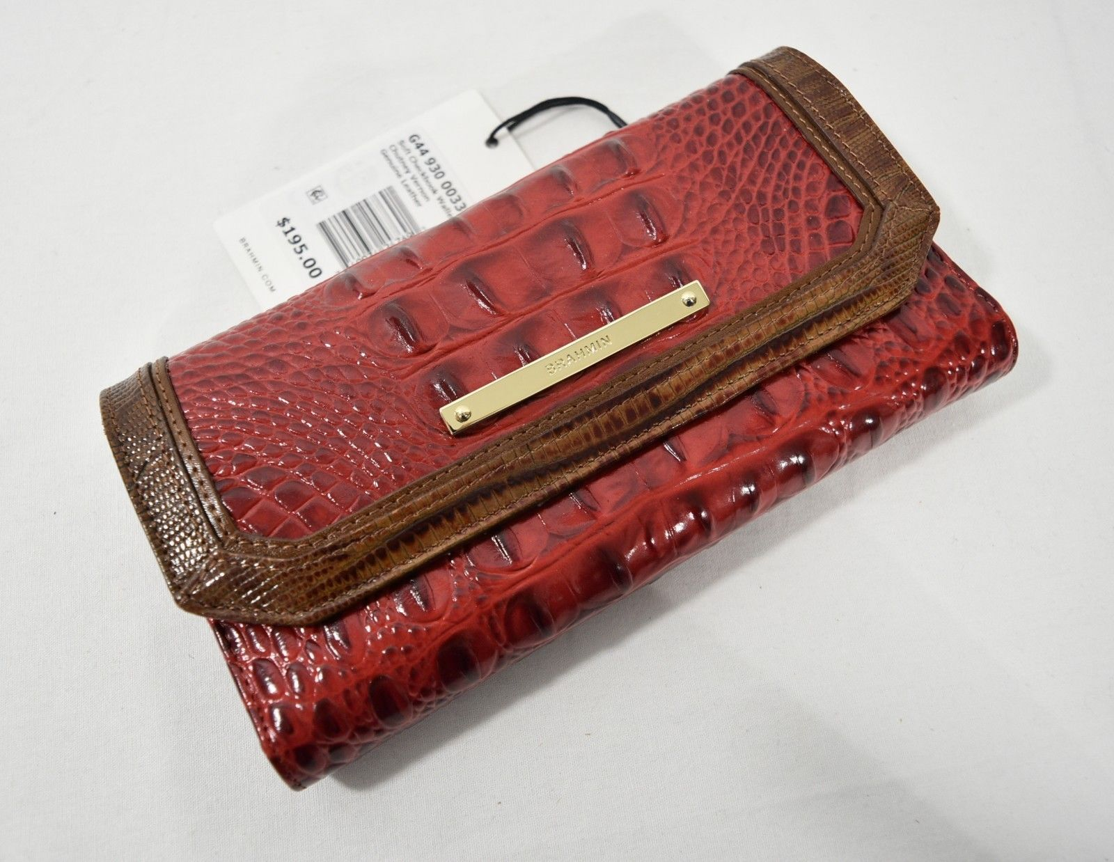 6153bd690fdf NWT Brahmin Leather Checkbook Tri-Fold and 50 similar items