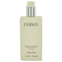 ETERNITY by Calvin Klein Body Lotion (unboxed) 6.7 oz for Women #448032 - $44.99