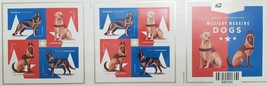 Military Working Dogs - 2019 USPS 20 Forever Stamps Sheet - $14.95