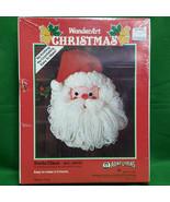 WonderArt Aunt Lydia's Vintage Bleach Bottle Christmas Kit Santa Claus - $14.99