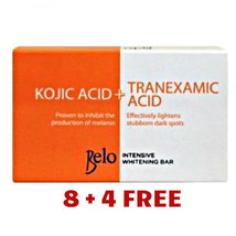 8+4 BELO KOJIC ACID +TRANEXAMIC ACID INTENSIVE WHITENING SOAP  65g - $42.64