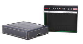 Tommy Hilfiger Men's Leather RFID Fixed Passcase Wallet Billfold 31TL220084 image 13