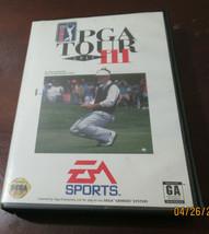 PGA Tour Golf III (Sega Genesis, 1994) - $17.82