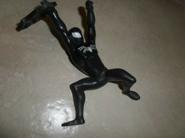 2009 Marvel Black Spiderman 'McDonald's' Pull Back Comic Action Figure - $2.47