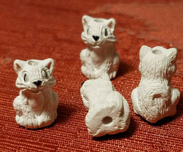Small Ceramic Bead Choose from 69 Variations Animals, Birds, Reptiles and More!! image 9
