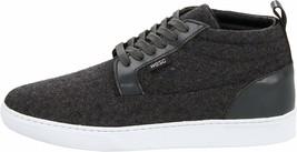 WeSC Men's Charcoal Melange Hagelin Melton Wool Fashion Sneakers Shoes NIB image 2