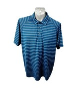 Tilley Endurables Polo Shirt Blue Gray Size L Mens Shirt Rayon Travel  ?? - $23.94