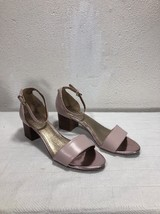 Leather Joan Circa Pink Heel David Open Size 8 Toe tSxqBwg