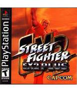 Street Fighter EX2 Plus PS1 Great Condition Fast Shipping - $69.93