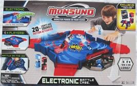 BIG Monsuno Play Set Electronic Battle Station Case Arena Set Ramps Ligh... - $39.50