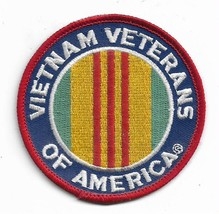 Vietnam Veteran Of America Patch - $9.89