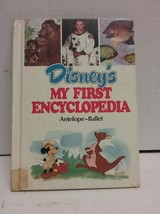 Disney's My First Encyclopedia Vol 2: Anteater-Backpacking - $3.95