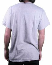 Young & Reckless Men's Heather Gray Blue Purple Punker T-Shirt Fantasy Factory image 3