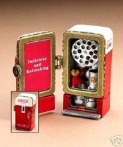 "Boyds Treasure Box ""Coke Machine w/Fizz"" Coke® Licensed- #919901- NIB- 2005 - $39.99"