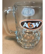 A & W ROOT BEER Baby Mini Mug Cup Glass The Difference is Delicious  - $15.49
