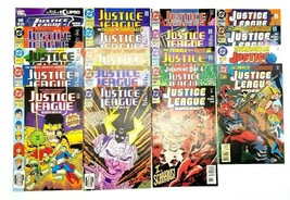 Justice League America 48 60-65 75-78 83 90 93 96 99 103 108 & 58 DC Com... - $33.85