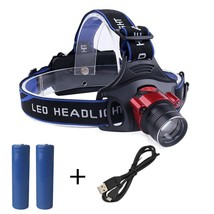 Outdoor&Sport Bike Headlamp USB Rechargeable Sensor T6 Led Headlamp Head... - £12.13 GBP