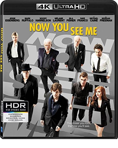 Now You See Me  (4K Ultra HD+Blu-ray)