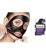 Balea Black Cloth Face Mask with activated carbon fleece,zinc & bamboo,V... - £4.38 GBP