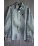 Abercrombie & Fitch Men's Long Sleeve Button Front Dress Shirt size L - $19.79