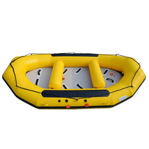 BRIS 1.2mm 12ft Inflatable White Water River Raft Inflatable Boat FloatingTubes image 5