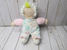 """HH 9"""" VTG Carters Plush Doll in Bunny Slippers Rattle Plush Teddy Bear P... - $54.44"""
