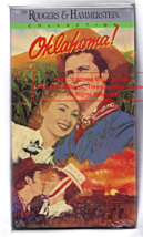 Vintage VHS Movie OKLAHOMA Movie Musical Rogers and Hammerstein Classic ... - $8.89