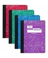 "Mead Composition Books/Notebooks, Wide Ruled Paper, 100 sheets, 9-3/4"" x 7- - $36.95"
