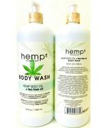 (2 Bottles) My Beauty Spot Hemp Plus Hemp Seed & Tea Tree Oil Body Wash ... - $31.67
