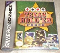 Texas Hold'em Poker for Nintendo Game Boy Advance Brand New - $5.99