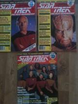 Lot of 3 Star Trek The Next Generation Movie Magazine , Vol. 1, 4, 13 - $15.00