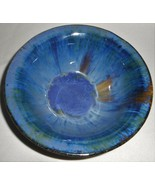 Early 1900s FULPER American Art Pottery CHINESE BLUE FLAMBE Bowl NEW JERSEY - $296.99
