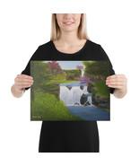 "Canvas Print ""Enchanted Falls"" - $56.95+"