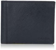 Calvin Klein CK Men's Classic Leather ID Card Passcase Wallet 7967096 image 7