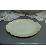 Vintage Royal Austria O & E G China Gold Trim Oval Tray Platter AUS89A NICE - $74.25