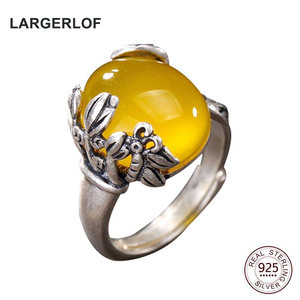 LARGERLOF Ring Silver 925 Wedding Rings Women Fine Jewelry ...