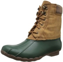 Sperry Top Sider Shearwater Duck Boots Rainboots Waterproof Shoes 7 Gree... - $120.00