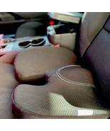 US Seller Car Seat Cushion,3D Mesh Fabric Seat Pillow Memory Foam Pad New - $38.61