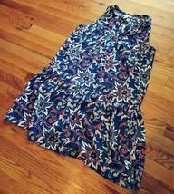 Loft Outlet Women's Floral Dress Size Medium NWT Button Front $69.99 MSRP - $49.49