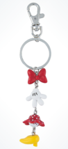 Disney Parks Exclusive Minnie Mouse Body Parts Charms Keychain New - $19.38