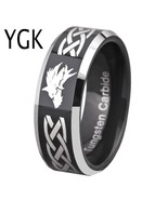Men's Ring Tungsten Carbide Rings for Men Women's Blue Color Wedding Leg... - $26.76