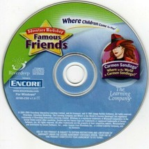 Where in the World is Carmen Sandiego? (Ages 6-10) PC-CD, 2005 -NEW CD in SLEEVE - $6.98