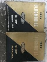 1957 Oldsmobile Servizio Riparazione Officina Negozio Manuale Set W Carb... - $118.74