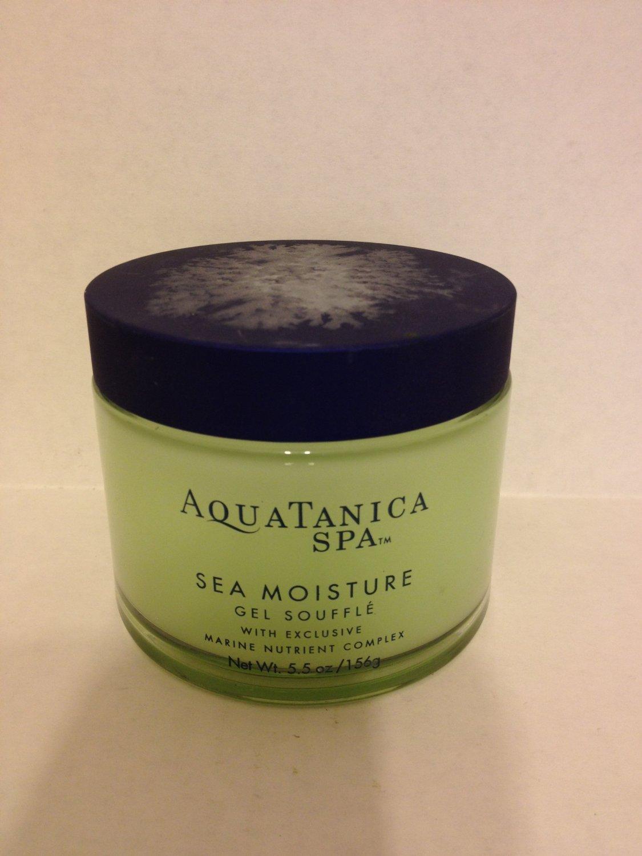 Bath & Body Works Aquatanica Spa Sea Moisture Gel Souffle, 5.5 oz / 156 g