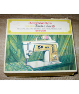 Singer Sewing Machine No. 630 Golden Touch Sew Deluxe Zig Zag Accessorie... - $49.99