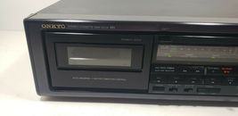 Onkyo Stereo Cassette Tape Deck TA-RW303 Tested image 3