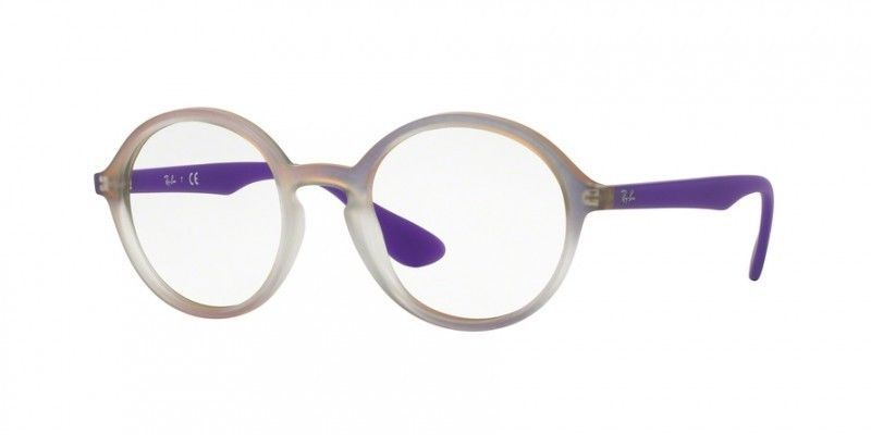63c00f1358 New RAY-BAN Rb 7075 5600 Purple Eyeglasses and 50 similar items. 57