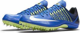 New $120 Mens Nike Zoom Celar 5 Spikes Running Shoes Violet pink Sz 11 6... - $36.99
